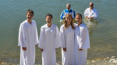 2013 Water Baptism at Del Valle