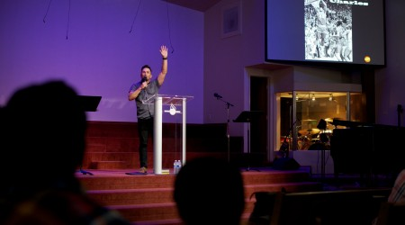 2015 Youth night with Joey Macias