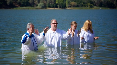 2015 Baptism Lake Del Valle