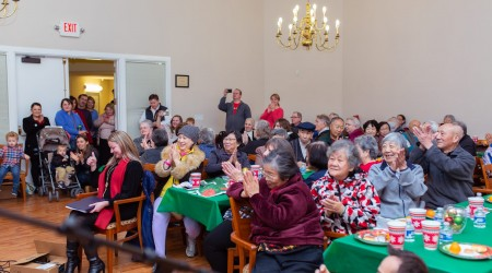 2018 Senior Center Christmas Event